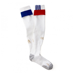 2016-2017 Olympique Lyon Adidas Home Football Socks (White)