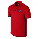 2015-2016 PSG Nike Authentic League Polo Shirt (Red)