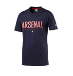 2016 Arsenal Puma Fan Tee (Black Iris) - Kids