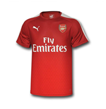 2016 Arsenal Puma Stadium Tee (Rio Red) - Kids