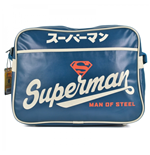 Superman Messenger Bag - Blue Japanese