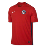 2016-2017 Chile Home Nike Football Shirt