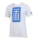 2016-2017 Greece Nike Core Crest Tee (White)