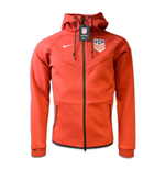 2016-2017 USA Nike Authentic Tech Fleece Windrunner (Red)