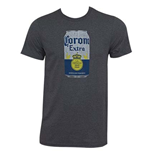 Men's Corona Can Heather Grey T-Shirt