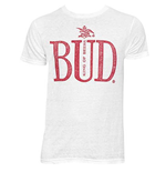 Men's BUDWEISER King Of Beers White T-Shirt
