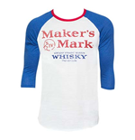 Men's MAKER'S MARK Blue Baseball T-Shirt