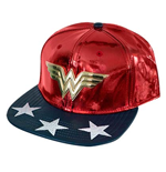 WONDER WOMAN Shiny Logo Hat