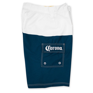 CORONA EXTRA Label Mens Swim Board Shorts