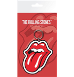 The Rolling Stones Rubber Keychain - Lips