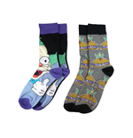 Krusty the Clown 2 Pack Socks