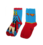 Supergirl Face 2 pack socks