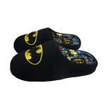 Batman Comic Slipper Mules