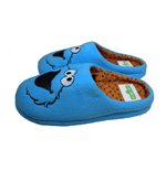 Cookie Monster Slipper Mules