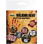 The Walking Dead Badge Pack - Phrases