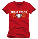 Captain America Civil War T-Shirt Team Stark