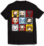 Game of Thrones T-Shirt Character Bling Art
