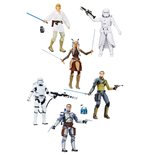 Star Wars Episode VII Black Series Action Figures 15 cm 2016 Wave 2 Revision 2 Assortment (6)