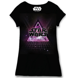 Star Wars Ladies T-Shirt Dance Floor