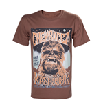 Star Wars T-Shirt Chewbacca Poster