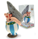 Asterix Bust Bank Obelix On Menhir 20 cm