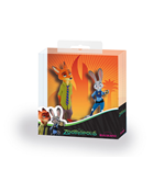 Zootopia / Zootropolis Gift Box with 2 Figures Nick Wilde & Judy Hopps 8 - 10 cm