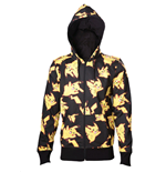 Pokemon Hooded Sweater Pikachu All Over