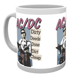 AC/DC Mug - Dirty Deeds