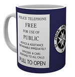 Doctor Who Mug - Tardis Sign