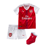 2016-2017 Arsenal Home Little Boys Mini Kit