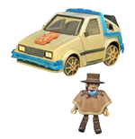 Back to the Future III Minimates Vehicle Rail Ready Time Machine