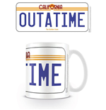 Back to the Future Mug License Plate
