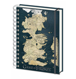 Game of Thrones Notebook A5 Map