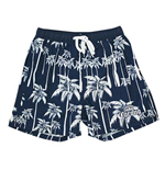 Men's Corona Navy Blue Palms Board Shorts