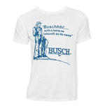Men's BUSCH Taste White T-Shirt