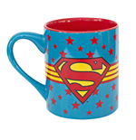 SUPERMAN Stars Logo Mug
