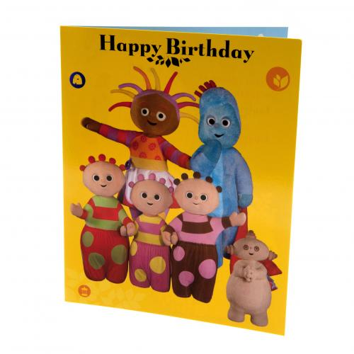 In the Night Garden Birthday Card Large