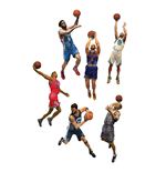 NBA Basketball Action Figures 15 cm Series 28 Assortment (8)