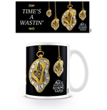 Alice Through the Looking Glass Mug Melting Clock