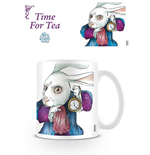 Alice Through the Looking Glass Mug White Rabbit