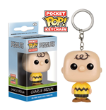Peanuts Pocket POP! Vinyl Keychain Charlie Brown 4 cm