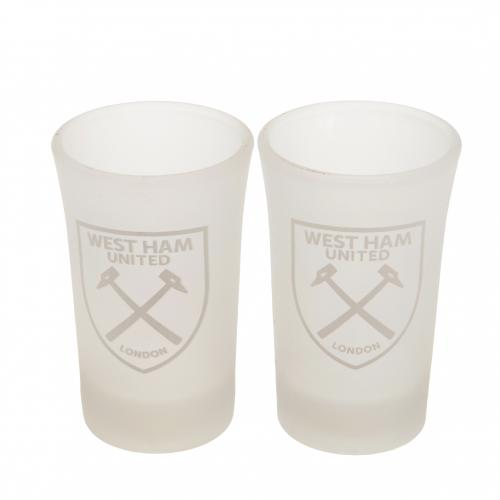 West Ham United F.C. 2pk Shot Glass Set FR