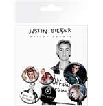 Justin Bieber Badge Pack - Mix 2