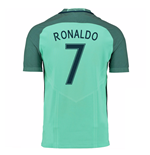 2016-17 Portugal Away Shirt (Ronaldo 7)