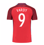 2016-17 England Away Shirt (Vardy 9) - Kids
