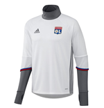 2016-2017 Olympique Lyon Adidas Training Top (White)