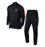 2016-2017 Portugal Nike Revolution Knit Tracksuit (Black)