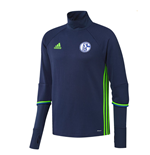 2016-2017 Schalke Adidas Training Top (Dark Blue) - Kids