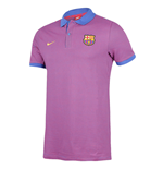 2016-2017 Barcelona Nike Authentic Polo Shirt (Game Royal)