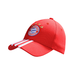 2016-2017 Bayern Munich Adidas 3S Cap (Red)